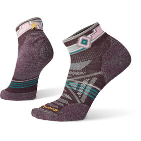 Smartwool PhD Outdoor Light Pattern Mini Strømper Damer, bordeaux